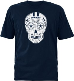 Dallas Cowboys Men's DOD Sugar Skull T-shirt