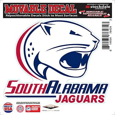 Stockdale University of South Alabama Single Logo 6 in x 6 in Decal