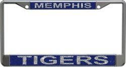 WinCraft University of Memphis Metal Glitter License Plate Frame
