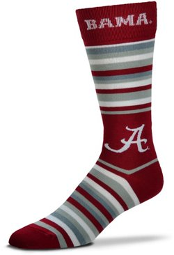 For Bare Feet University of Alabama The Boss Knee High Dress Socks