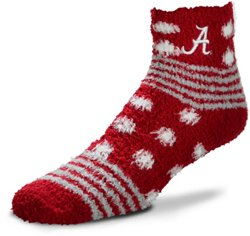 For Bare Feet University of Alabama Tailgater Sleep Soft Socks