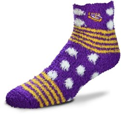 For Bare Feet Louisiana State University Tailgater Sleep Soft Socks