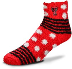 For Bare Feet Texas Tech University Tailgater Sleep Soft Socks