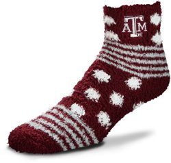 For Bare Feet Texas A&M University Tailgater Sleep Soft Socks