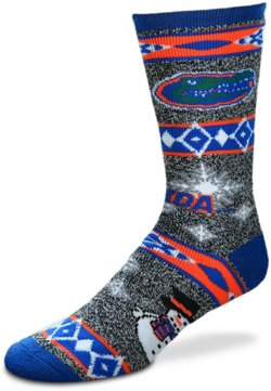 For Bare Feet University of Florida Holiday Sweater Socks