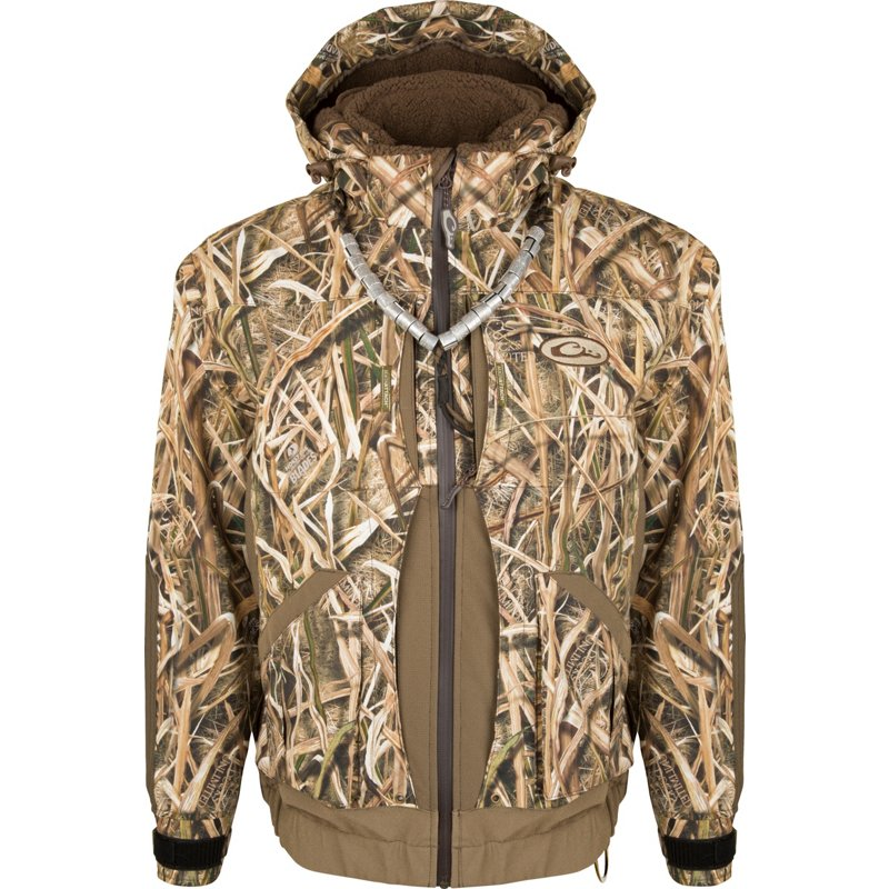 Drake Waterfowl Men's Guardian Elite Boat and Blind Shell Jacket, 3X-Large – Adult Insulated Camo at Academy Sports