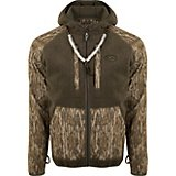 Drake Waterfowl Men's Sherpa Fleece Hybrid Liner Full Zip Jacket