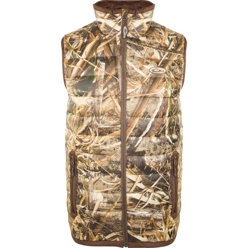 Drake Waterfowl Men's LST Double Down Layering Vest, 2X-Large – Adult Insulated Camo at Academy Sports