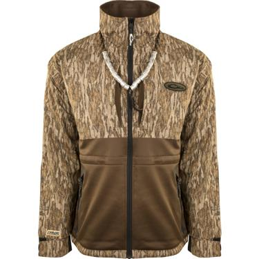 6cb366db189a2 ... Drake Waterfowl Men's Guardian Flex Full Zip Eqwader Wading Jacket.  Men's Jackets & Vests. Hover/Click to enlarge
