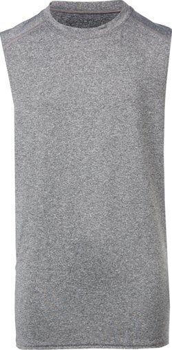 Men's Compression Basic Crew Neck Tank Top