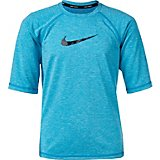 Nike Boys' Cover-Up Short Sleeve Swim Shirt