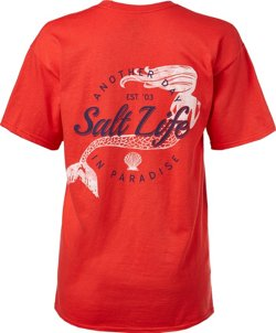 Salt Life Women's Mermaid Paradise V-neck T-shirt
