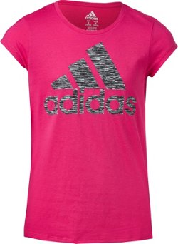 adidas Girls' Vented T-shirt