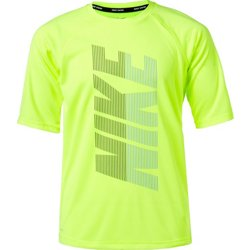 Boys' Rift Half Sleeve Hydroguard Swim Shirt