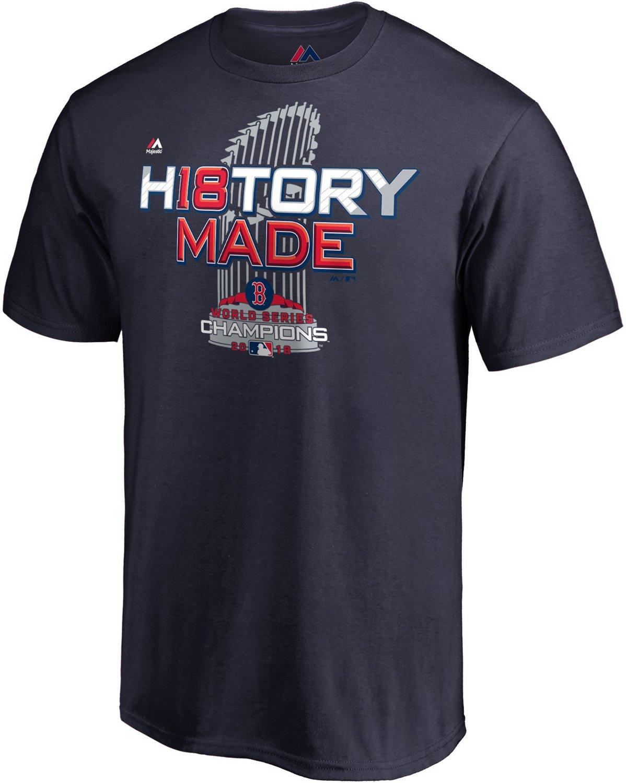 ecca3389e Majestic Men's Boston Red Sox 2018 World Series Champions Locker Room T- Shirt   Academy
