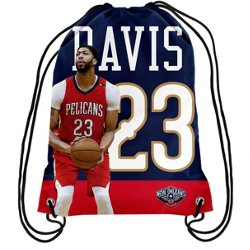 Forever Collectibles New Orleans Pelicans Anthony Davis 23 Drawstring Backpack