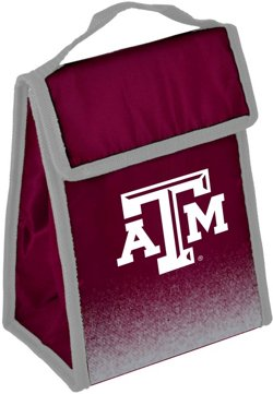 Forever Collectibles Texas A&M Aggies Gradient Hook-and-Loop Lunch Bag