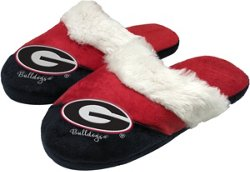 Forever Collectibles Women's University of Georgia Script Big Logo Slippers