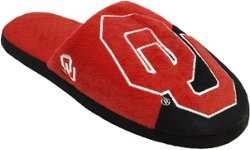 Forever Collectibles Men's University of Oklahoma Colorblock Slide Slippers
