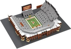 Forever Collectibles University of Texas Darrell K Royal Texas Memorial BRXLZ Stadium