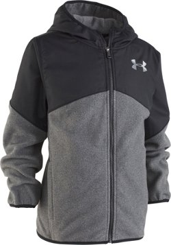 Under Armour Boys' North Rim ColdGear Microfleece Full Zip Jacket