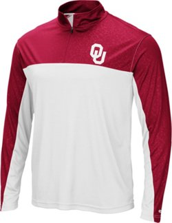 Men's University of Oklahoma Luge 1/4-Zip Windshirt