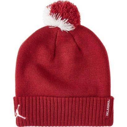 Nike Men s University of Oklahoma Pom Knit Beanie  86a4f498f66