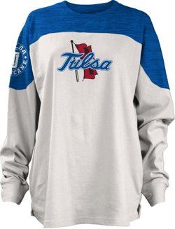 Three Squared Women's University of Tulsa Cannondale Long Sleeve T-shirt