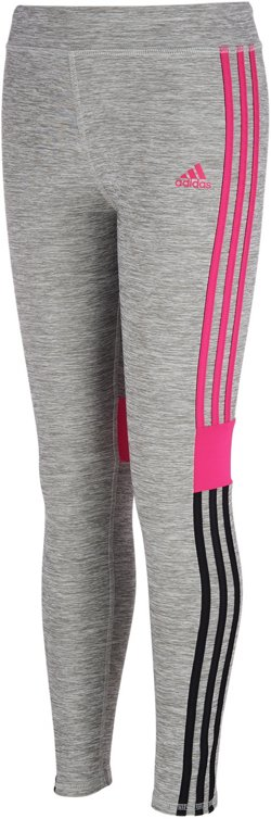 adidas Girls' climalite Melange Tights