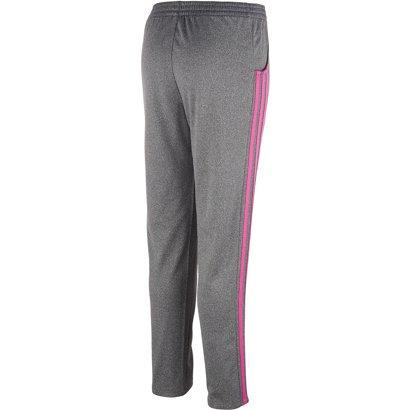 bd771e9657ce adidas Girls  Heathered Warm-Up Tricot Pants