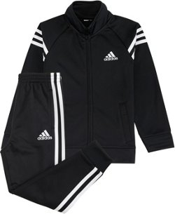 adidas Boys' Tricot Jacket and Jogger Pants Set