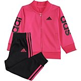 adidas Toddler Girls' Adi Love Jacket and Pants Set