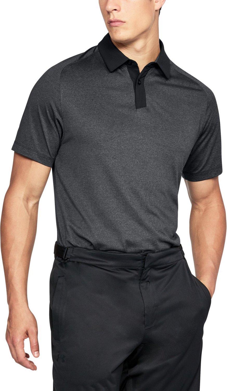 15eaadfa Under Armour Men's UA Threadborne Golf Polo Shirt   Academy