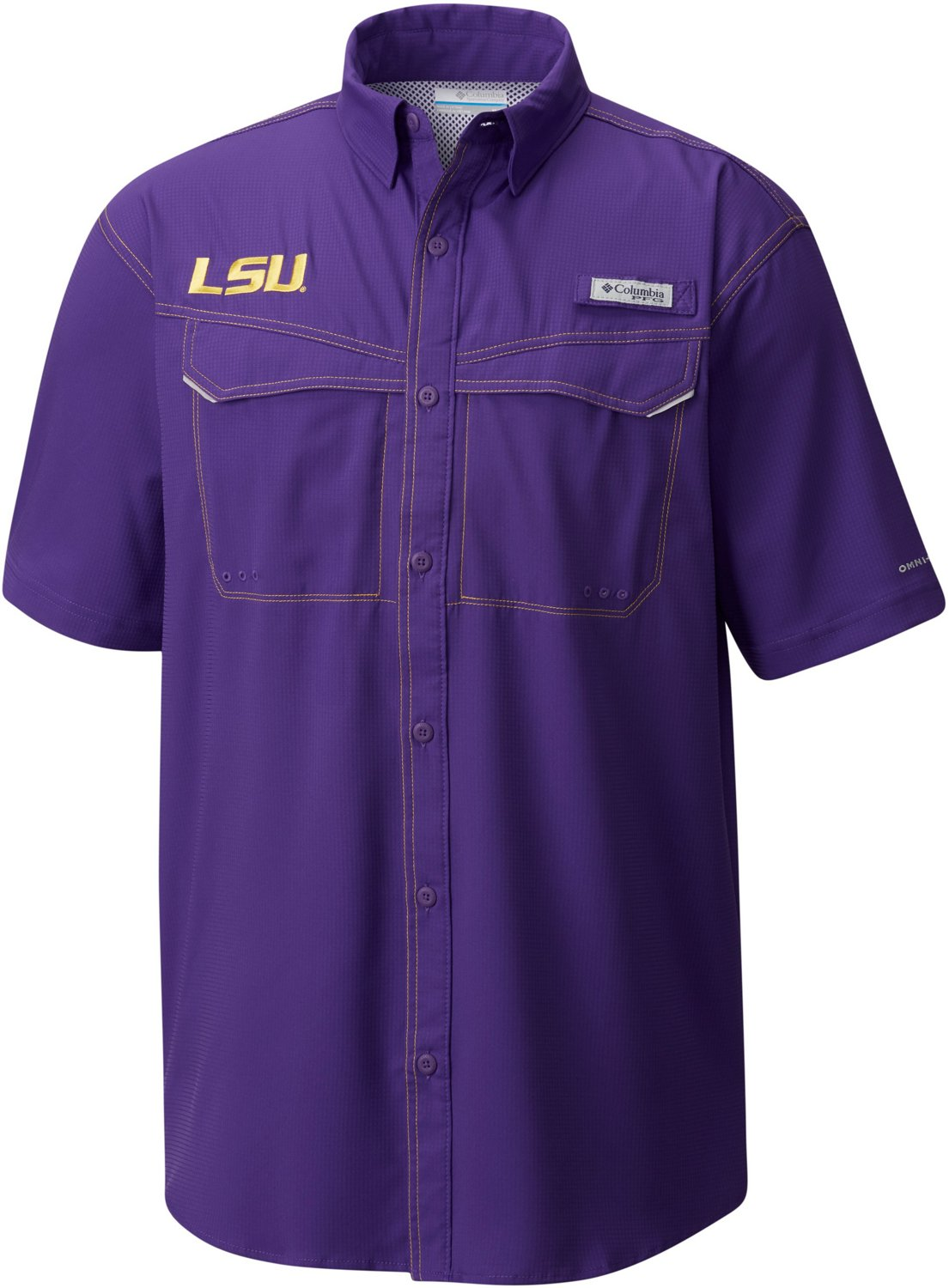 2143b19d5 Display product reviews for Columbia Sportswear Men's Louisiana State  University Low Drag Offshore Short Sleeve T