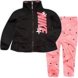 Nike Toddler Girls' Tricot Jacket and AOP Star Set