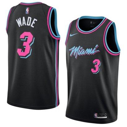 Nike Men\'s Miami Heat Dwyane Wade Swingman City Edition Jersey | Academy