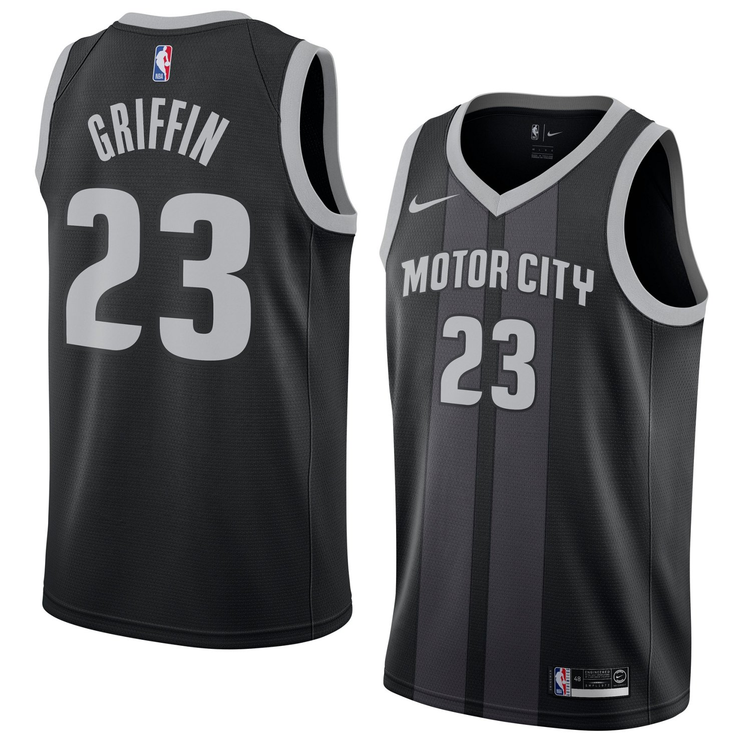 1bcd4ffb7b93 Nike Men s Detroit Pistons Blake Griffin Swingman City Edition Jersey