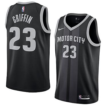 new style 012ab b5140 Nike Men's Detroit Pistons Blake Griffin Swingman City Edition Jersey