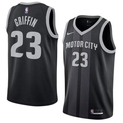 86307aa6a ... Nike Men s Detroit Pistons Blake Griffin Swingman City Edition Jersey.  Pistons Men s Apparel. Hover Click to enlarge