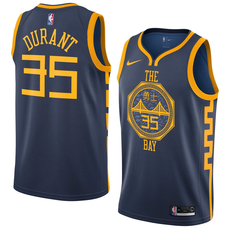 e4ab0d4a761d Nike Men s Golden State Warriors Kevin Durant Swingman City Edition Jersey