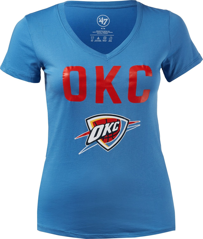 47 Oklahoma City Thunder Women s Primary Ultra Rival T-shirt  be568cd3f