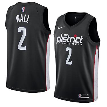 quality design 5ddef 92489 Nike Men's Washington Wizards John Wall Swingman City Edition Jersey
