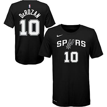 huge selection of f6a92 9eaf2 NBA Boys' San Antonio Spurs DeMar DeRozan 10 Icon T-shirt
