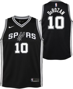 NBA Boys' San Antonio Spurs DeMar DeRozan 10 Icon Swingman Jersey
