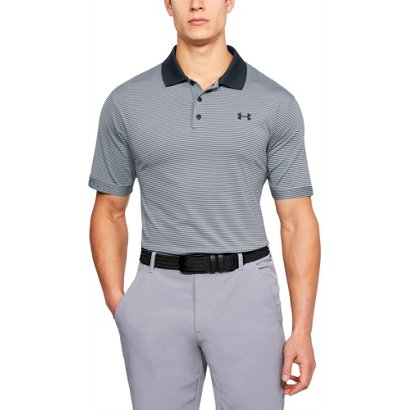 59547381fb3 Academy   Under Armour Men s Performance Patterned Golf Polo Shirt.  Academy. Hover Click to enlarge