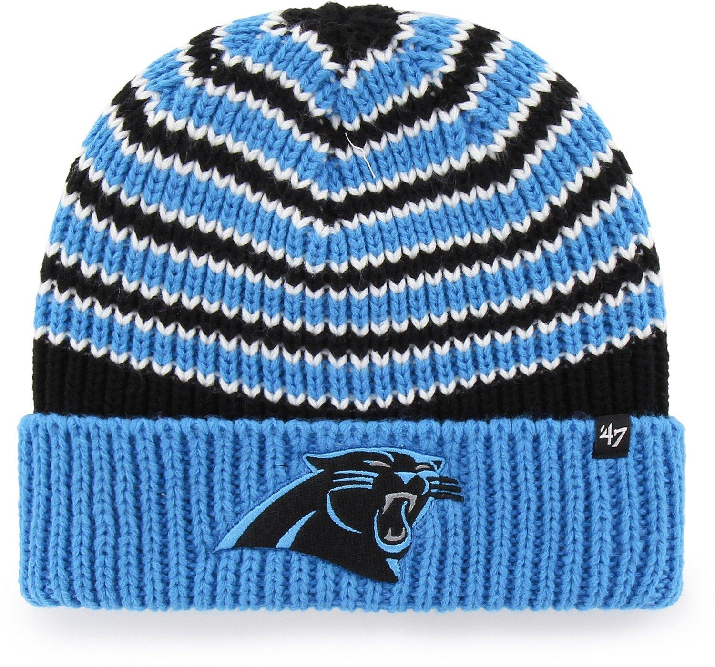 47 Carolina Panthers Ernie Cuff Knit Beanie  745c5af3736