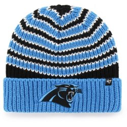 af16e7552  47 Carolina Panthers Ernie Cuff Knit Beanie