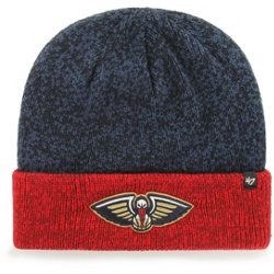 cab94960 ... get new orleans pelicans marl 2 tone cuff knit hat 03c72 52fe7