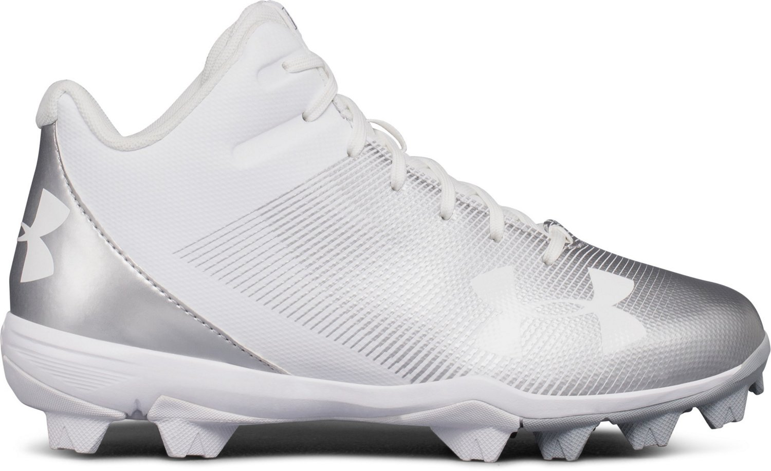 6535a99307 Display product reviews for Under Armour Kids' Leadoff Mid RM Jr. Baseball  Cleats