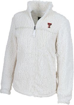 Women's Texas Tech University Varsity Sherpa Pullover